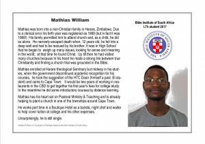 Profile - Mathias
